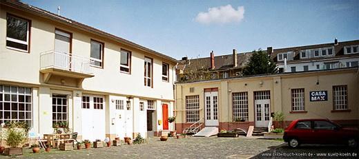Das Casamax-Theater - unsere Trainingsstätte in Köln-Sülz